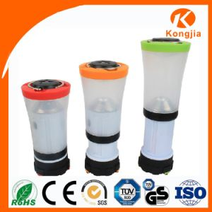 Colorful Torch Light Popular 3 Modes ABS Solar Camping Lantern