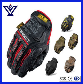 Police Military Army Full Finger Tactical Glove (SYSG-1850) pictures & photos
