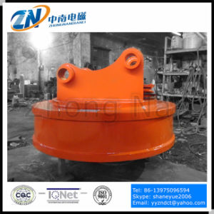 Dia-1100mm Excavator Lifting Magnet for Steel Scraps Emw-110L pictures & photos