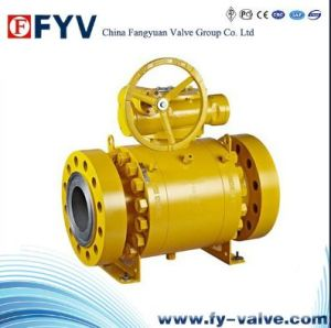 Forged Trunnion Mounted Ball Valve pictures & photos