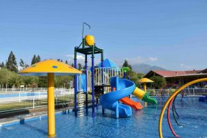 Sale and Environmental Giant Inflatable Water Park Equipment with Slide pictures & photos