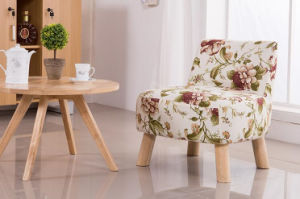 Solid Wooden Chairs Living Room Chairs Colorful Chairs Fabric Chairs Coffee Chairs Fabric Sofa (M-X2052) pictures & photos