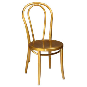 Aluminum Thonet Bent Side Chair (C1401)