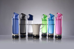 Hydrogen Water Bottle with Minim Titanium Plates to Produce High Negative Potention and Hydrogen pictures & photos