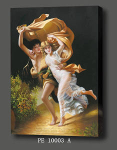 Famous Oil Painting for Holiday Gifts (PE 10003 A)