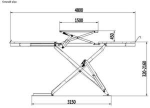 Alignment Scissor Lift pictures & photos