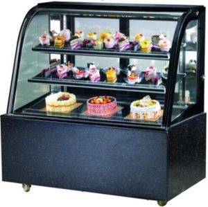 Refrigeratredcake Showcase (Curved glass) pictures & photos