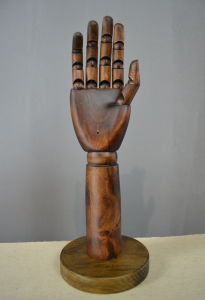 Stable Wooden Hands Dummy for Handbags Display pictures & photos