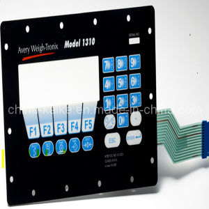 Plastic Dome Membrane Switch Utilizing Shadowed Keys pictures & photos