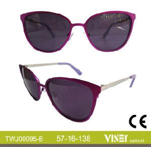 Handmade High Quality Metal Sunglasses (95-A) pictures & photos