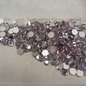 Scrapbooking Embellishment Violet Flat Back Crystal Rhinestone pictures & photos