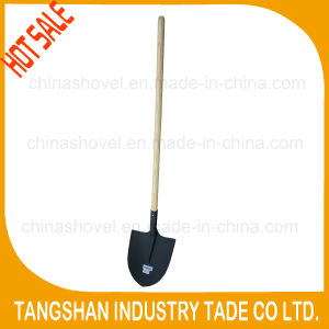 Hot Sale - Long Wood Stick Steel Shovel pictures & photos