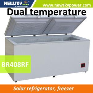 DC 24V 12V Solar Refrigerator Freezer 12V DC Freezer pictures & photos