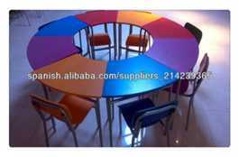 Popular Nursery Furniture Kids Table and Chair Sets (SF-35C) pictures & photos