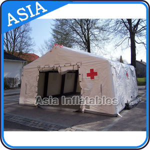 Emergency Event Inflatable Military Camouflage Color Tent, Inflatable Giant Tent, Inflatable Army Tent pictures & photos
