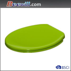 Soft Close Green Color Toilet Seat Cover pictures & photos
