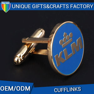 Cheap Custom Promotion Metal Cufflinks with High Quality pictures & photos