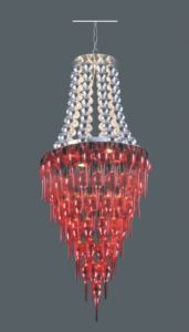 Modern Stainless Steel Red Pendant Lamp for Decoration pictures & photos