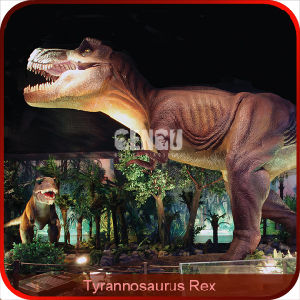 High Quality Museum Dinosaur Realistic Model pictures & photos