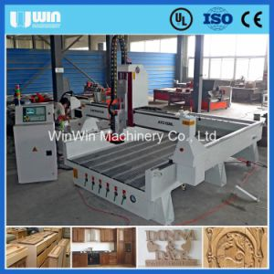 Automatic Wood Carving Machine with Cast Iron Structure pictures & photos