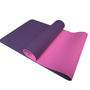 Custom Print TPE Yoga Mat Eco Friendly pictures & photos