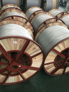 as Wire for Highway and Railway Aluminum Alloy Wire Aluminum Clad Steel Wire pictures & photos