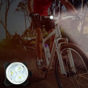 Waterproof Mountai Bicycle Accessories Plastic Bike Front Light Lehtd USB Rechargeable LED Bike Tail Light pictures & photos