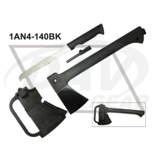 "14""Overall Black Outdoor Axe with PA+Nylon Fiber Handle: 1an4-140bk pictures & photos"