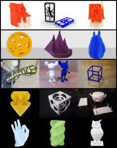 Hot Sale Desktop Cube 3D Phrototype Printer pictures & photos