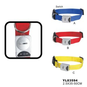 Dog LED Flashy Collar (YL83594) pictures & photos