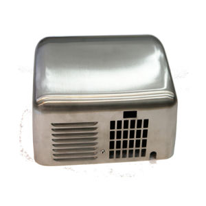 Low Power Silver Wall Mounted 304 Stainless Steel Automatic Factory Handdryer pictures & photos
