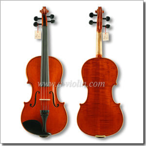 Hand Made Conservatory Violin, Flamed Maple Advanced Violin (VH30H) pictures & photos