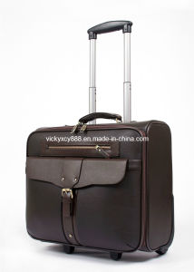 Wheeled Suitcase PU Trolley Business Travel Case (CY5892) pictures & photos