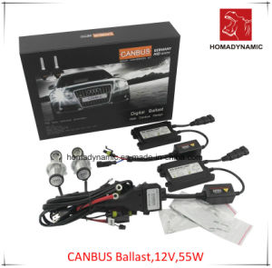 12V 55W Slim Ballast HID Xenon Kit with 2 Years Warranty, Quality HID Xenon Kit 1070-2 Black pictures & photos