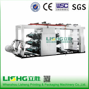 6 Color High Speed Flexo Printing Machine for Cotton Fabric pictures & photos