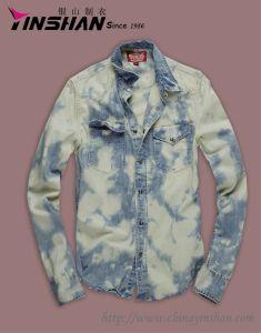 Men′s L/S Cowboy Shirt/Boy′s Cowboy Shirt (MX12-L4003)