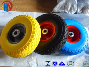 Manufacture High Quality PU Foam Wheel pictures & photos
