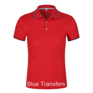 Polo T-Shirt in Contrast Colors pictures & photos