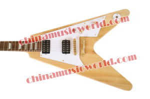 Afanti Music Flying V Style Electric Guitar (AFV-132) pictures & photos
