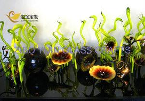Hot Selling Villa Hotel Hallway Lobby Garden Living Room Top Grade Club Murano Glass Decoration Modern Art Glass Sculpture