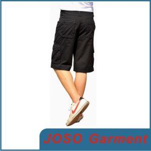 Men Black Short Demin Bermuda Jeans (JC3025) pictures & photos