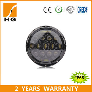 """Philips Chip LED 75W 7"""" Round LED Headlights pictures & photos"""