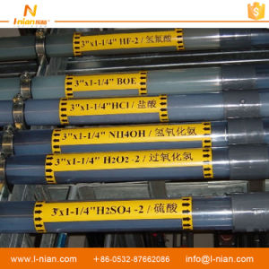 Custom Printing Tube Caution Labels Pipe Stickers