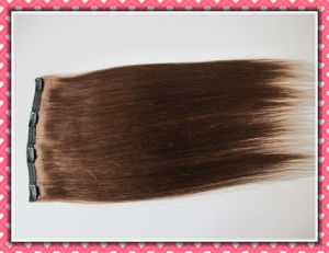 European Straight Human Remy Hair Clip in Extensions Hhci20b pictures & photos