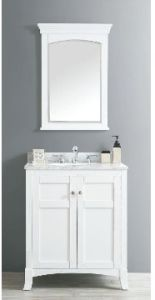 Solid Wood Bathroom Cabinet (DS02) pictures & photos