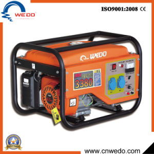 Wd3380 2kVA/2kw/2.5kw/2.8kw 4-Stroke Portable Gasoline/Petrol Generators with Ce (168F) pictures & photos