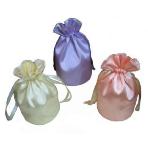 Custom Jewelry Bag Wholesale Satin Hair Bag pictures & photos