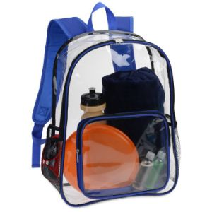 School Bag Made of Clear PVC pictures & photos