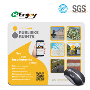 Hot Eco Natural Rubber Mouse Pad with Printing Customer Design pictures & photos
