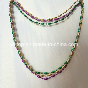 Mardi Gras Assorted Bead Necklace (DA001) pictures & photos